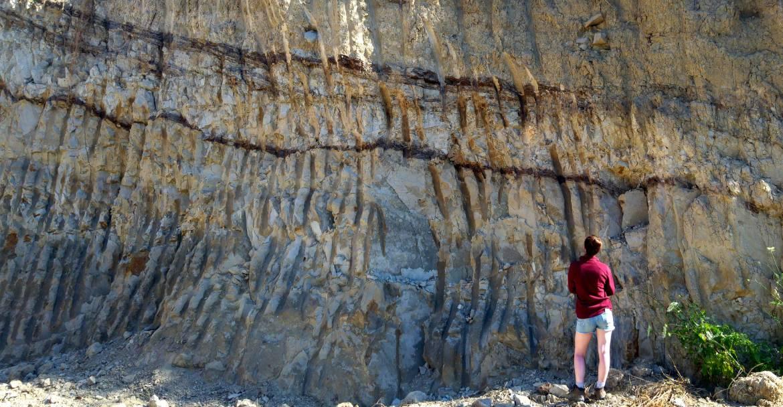 2 - tesi studentessa inglese in cava argille infrapleistocenica base Etna