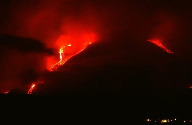 The eruption of Etna initiated on 30 May 2019: what is happening?