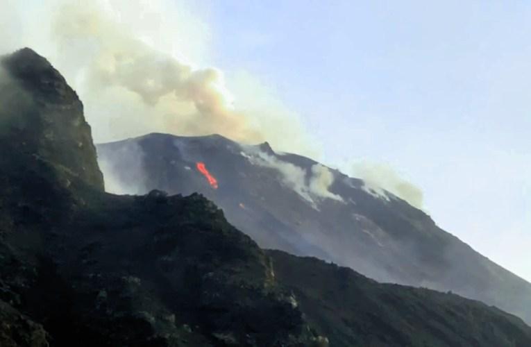 Attività eruttiva di Stromboli del 31 marzo 2020