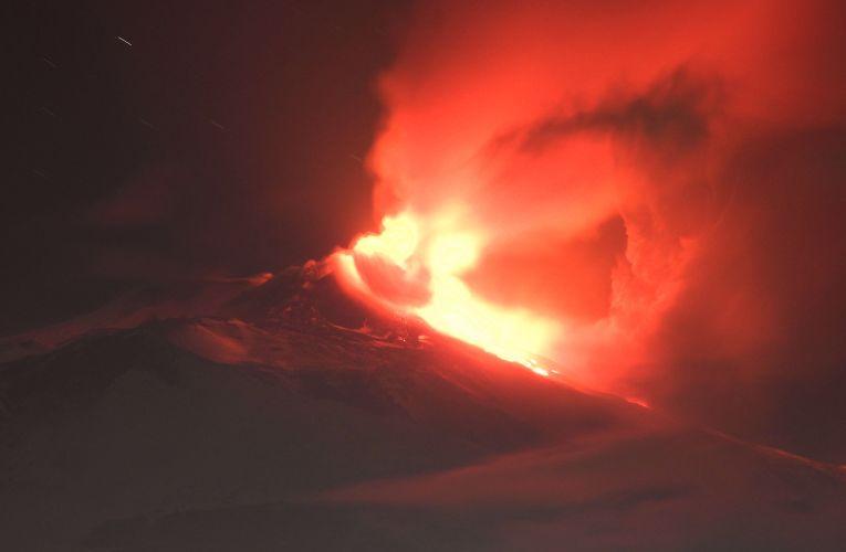 Nuovo episodio eruttivo sull'Etna, 18 gennaio 2021