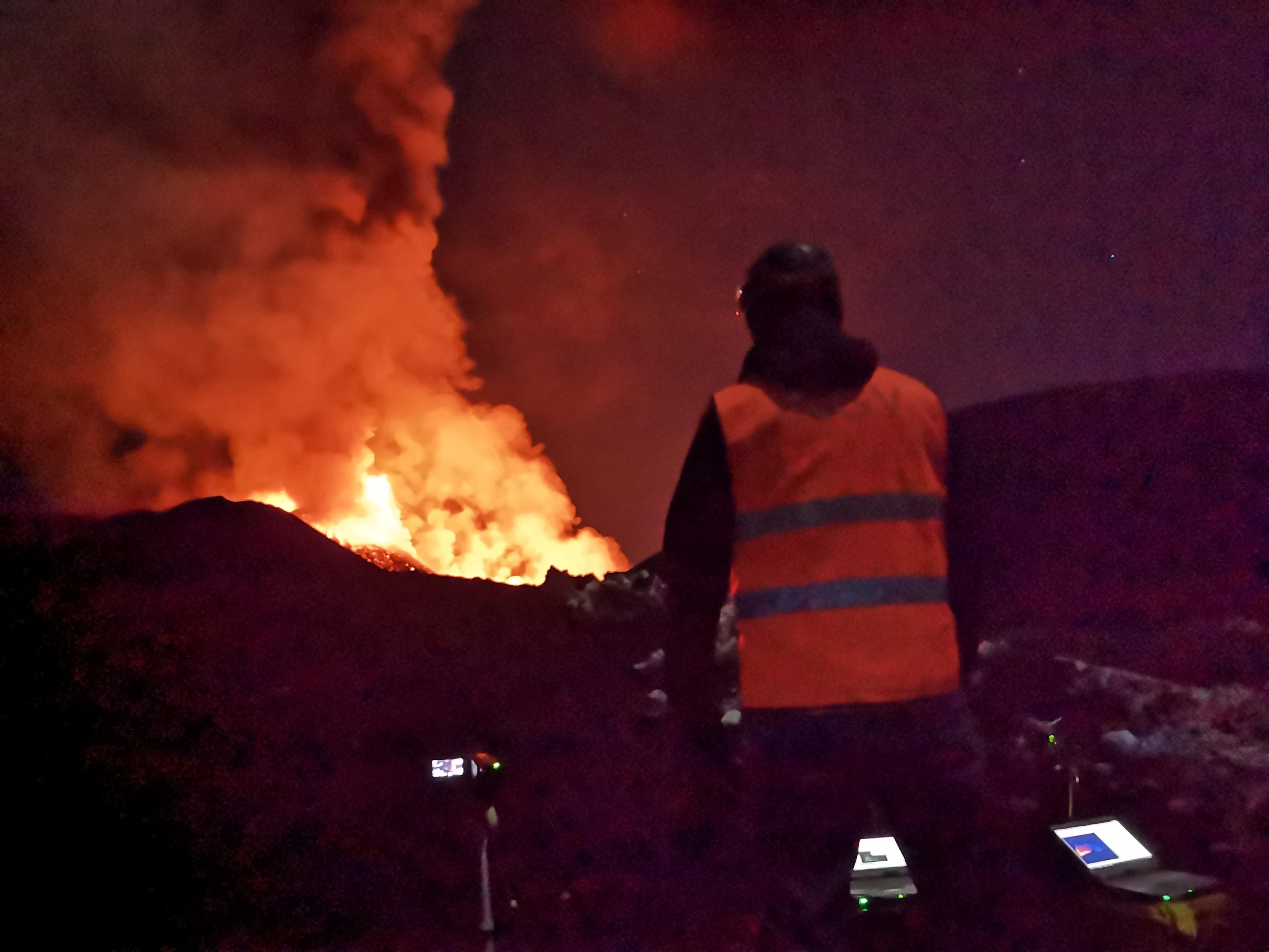 Monitorando in tempo reale l'Etna in eruzione