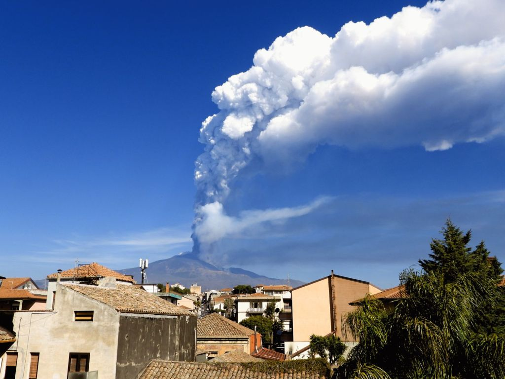 dodicesimo parossismo Etna