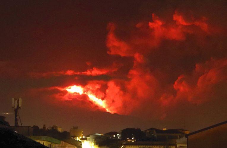Un'altra notte di fuoco sull'Etna, 9-10 marzo 2021