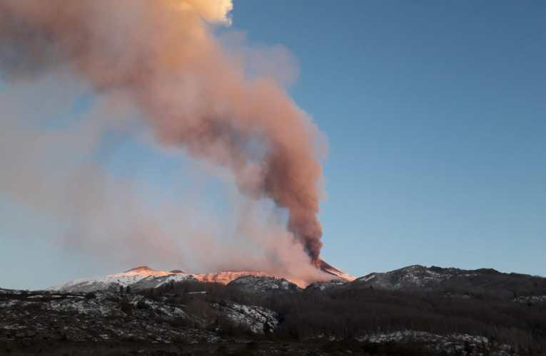 Etna, 23-24 marzo 2021. Sedicesimo parossismo al Cratere di Sud-Est
