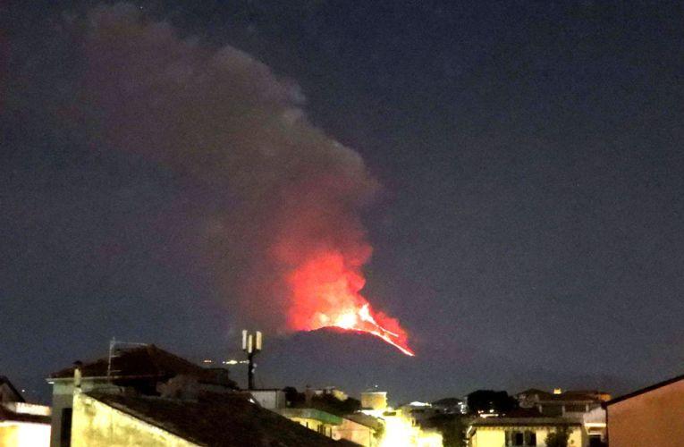 Etna, 31 marzo – 1 aprile 2021: un parossismo insolito