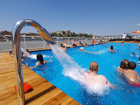 Barge Beach Budapest