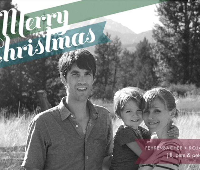 Get Your Custom Family Photo Holiday Cards Started With Modern Greetings Inhabitots