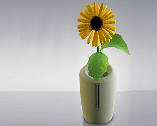 Gonglue Jiang, bionic humidifier, humidifier, green humidifier, flower himidifier, bio mimicry, green gadgets