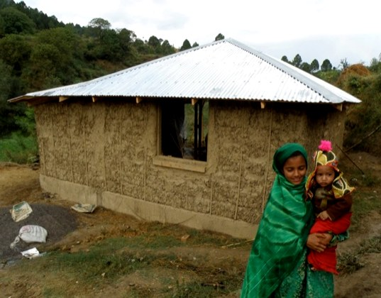 Affordable Earthquake Resistant Homes Made From Straw