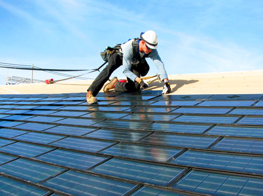 sustainable design, renewable energy, solar shingles, dow chemical, dow, solar power, solar energy, green design