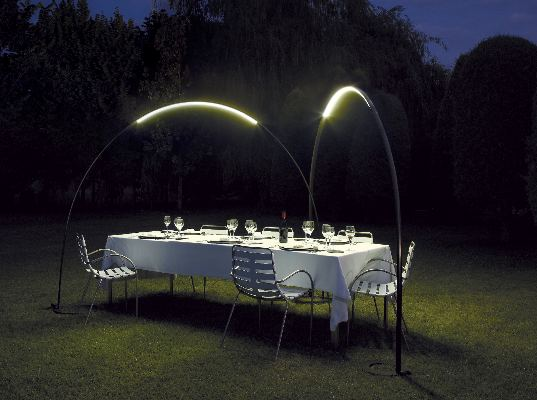green lighting, led, vibia, halley lighting, jordi vilardell, meritxell vidal, energy efficent lighting, green furniture, outdoor lighting