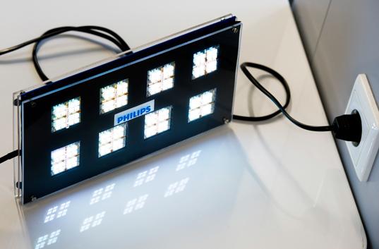 philips, oled, led, lighting, lights, ac, dc, sustainable design, green design, energy efficient lighting
