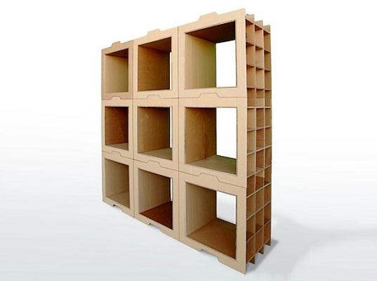 Modular Built Shelving