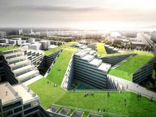 Yamasaki Ku Hong Associates Design Labs Great Wall