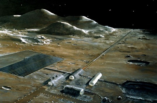 Could Nuclear Power Provide Space Colonies On The Moon