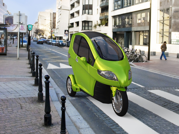 SynergEthics 3 Wheeled Tilter Electric Vehicle Is Part