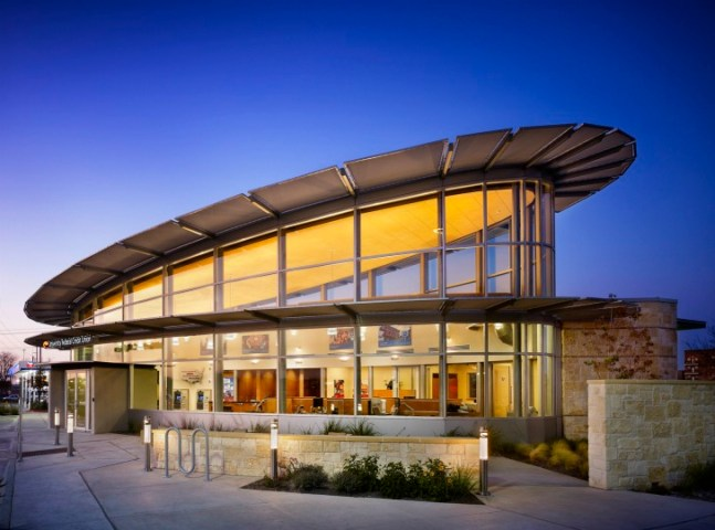 Austin s Ben White University Federal Credit Union Banks on     Architecture