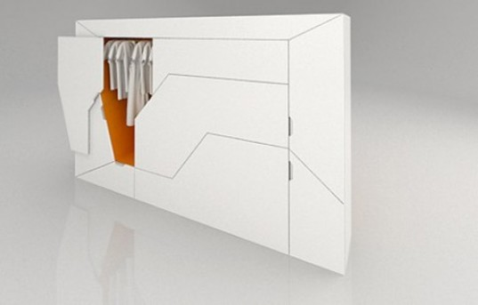 bedroom in a box' is the ultimate compact furniture suite