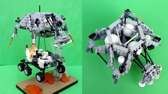 NASA Engineer Makes Mini Mars Curiosity Rover Out Of LEGO ...