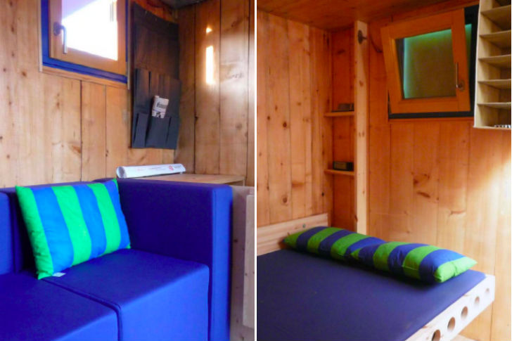 Shipping Container Inspired Homebox Is A Tiny Movable 3 Story Vertical Home Inhabitat Green