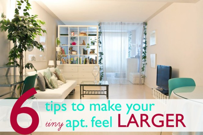 Tiny Apartment Feel Larger