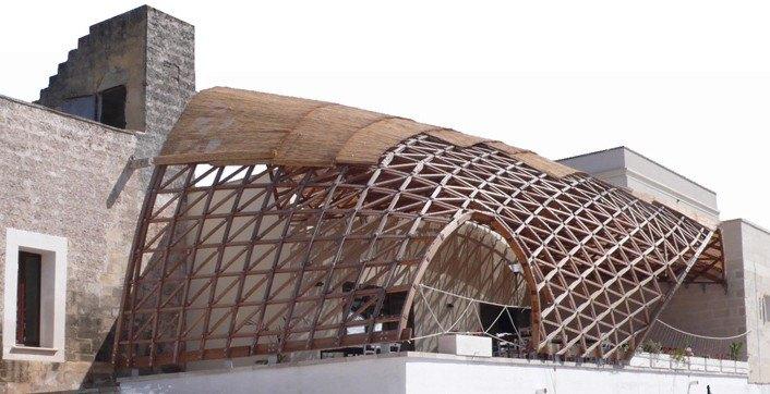 Gridshell Parametric Shade Structure 171 Inhabitat Green
