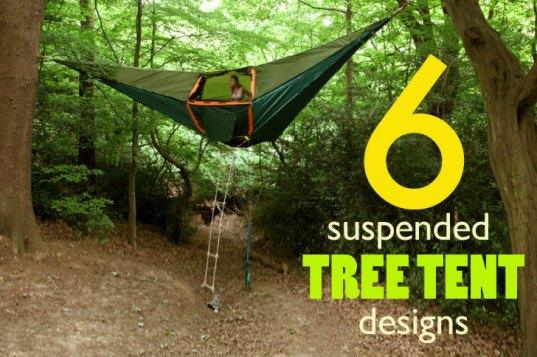 Top 6 Suspended Tree Tent Designs Secret Campsite 5
