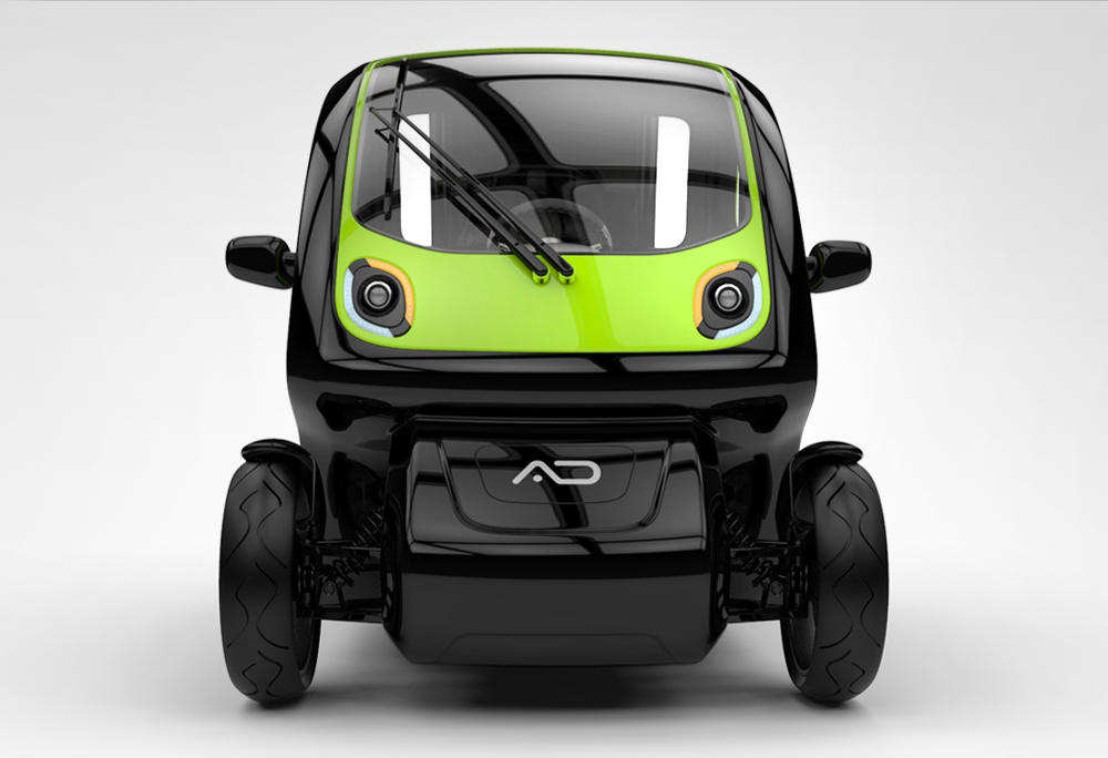 EQUAL A Compact Electric Vehicle Specially Designed For