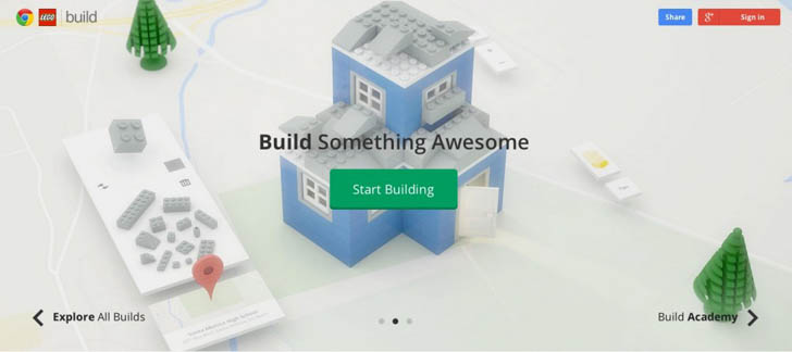 Build With Chrome Game Lets You Make Virtual LEGO Creations Anywhere     Architecture