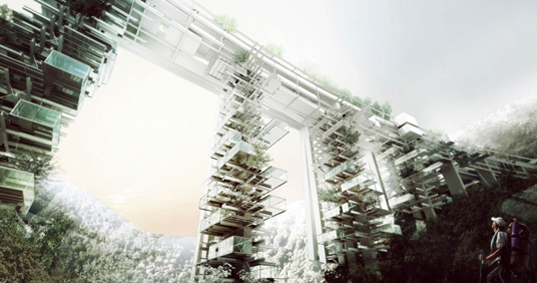 OFF Architecture Propose A Solar Powered Vertical Village To Replace Mafia Built Highway