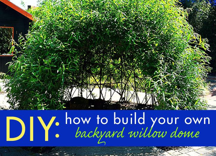 Building Garden Dome