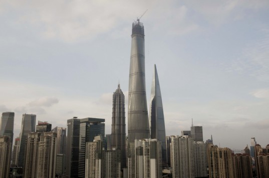 PHOTOS: World's Second Tallest Skyscraper Nears Completion
