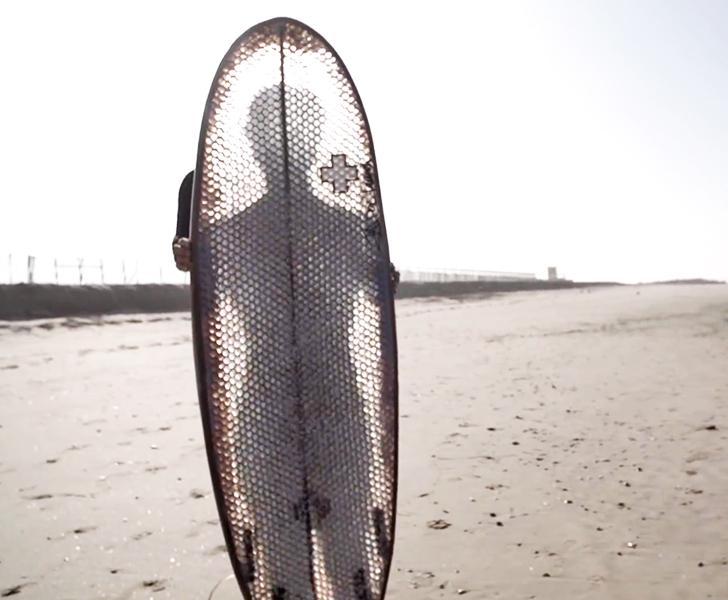 Super Durable Cardboard Surfboard Wont Disintegrate While