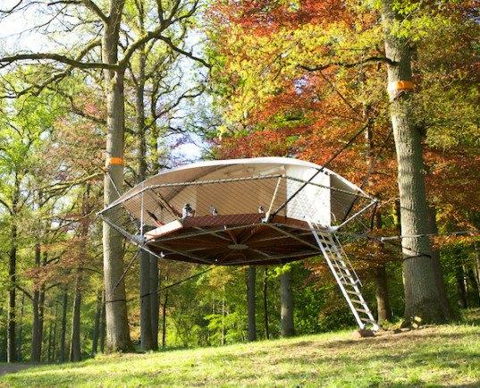 Dom Up Treehouse Trees Amp People 171 Inhabitat Green Design
