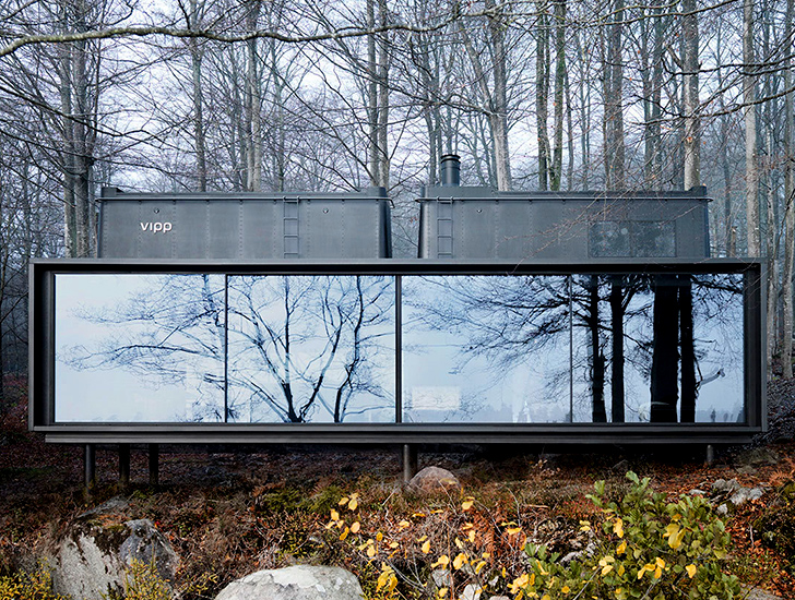 The Vipp Shelter Is A Plug And Play Prefab Home That Can
