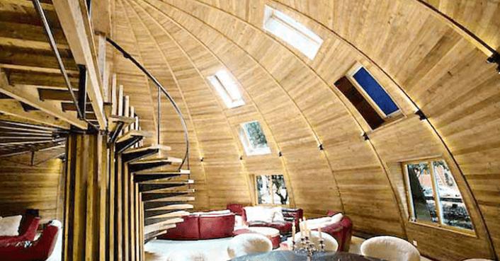 Timber Dome 171 Inhabitat Green Design Innovation