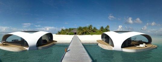seascape project, seascape villas, bmt asia pacific, bmt asia pacific seascape, floating villas, underwater bedroom, floating villa yachts, floating vacation homes