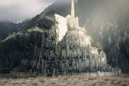 Lord of the Rings, Minas Tirith, Indiegogo, architects, Peter Jackson, Tolkien, White City, weird architecture projects, crowd funding, weird crowd funding campaigns