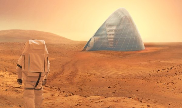 NASA crowns the 3D-printed space igloo as the most livable ...