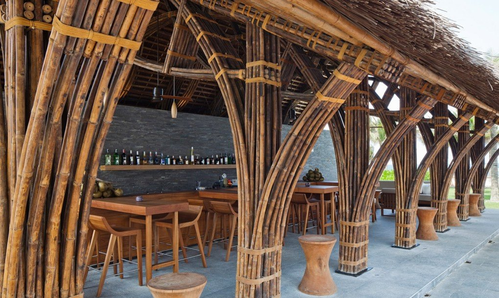 Luxurious Bamboo Beach Bar And Restaurant Bolsters Spa In