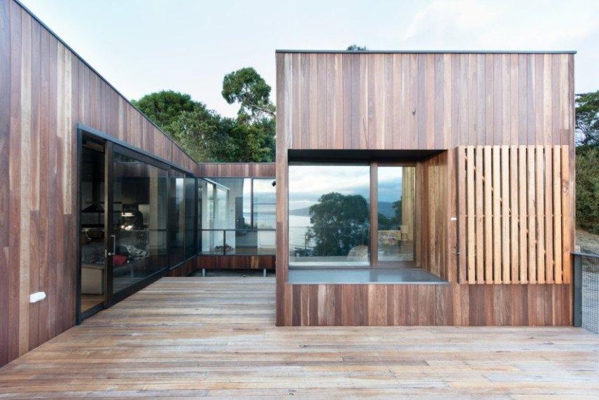 house exterior wooden studio