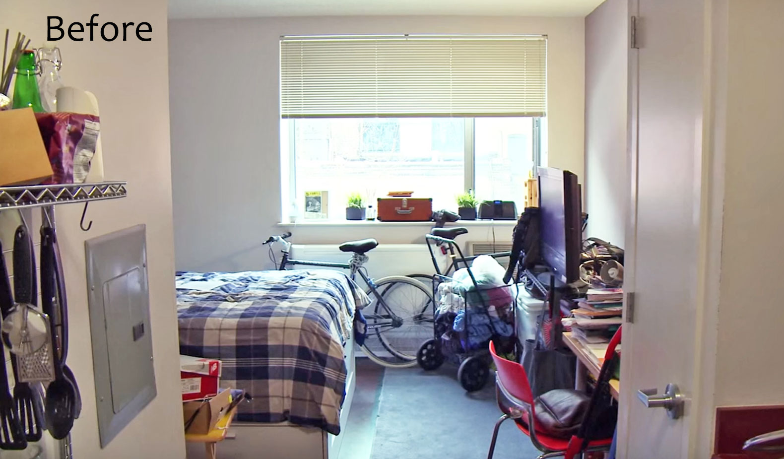 See IKEAs Smart Makeover Of This 300 Sq Ft Bronx Studio
