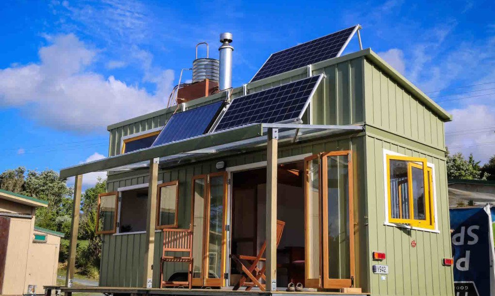 Luxurious tiny home in New Zealand is off-grid and 100% ... on New Get Design  id=74215