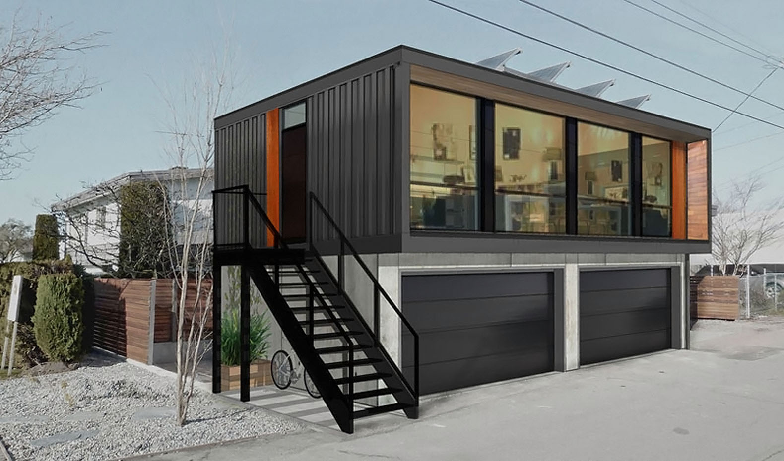 Best Kitchen Gallery: You Can Order Honomobo's Prefab Shipping Container Homes Online of Homes From Storage Containers  on rachelxblog.com