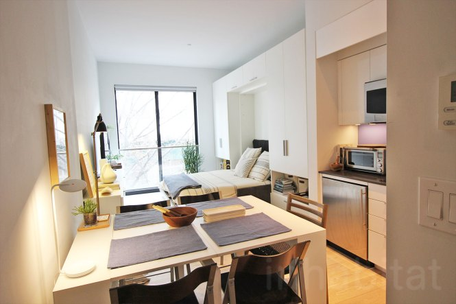 Nyc S First Micro Apartment Units Near