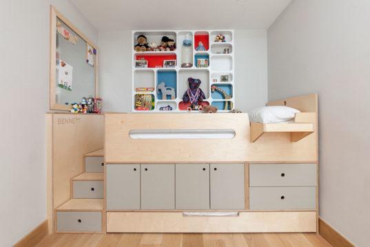 Casa Kids Clever Custom Sleeping Loft Is A Storage Bed On