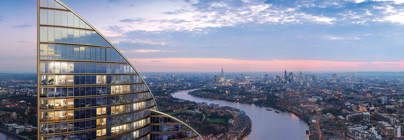 Europes Tallest Residential Tower Breaks Ground In London