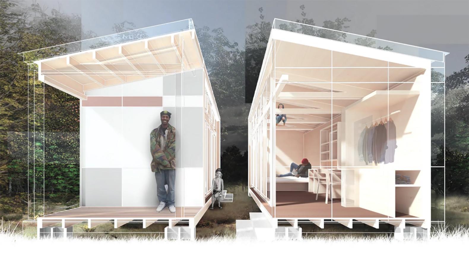 Low Income Housing Inhabitat Green Design Innovation