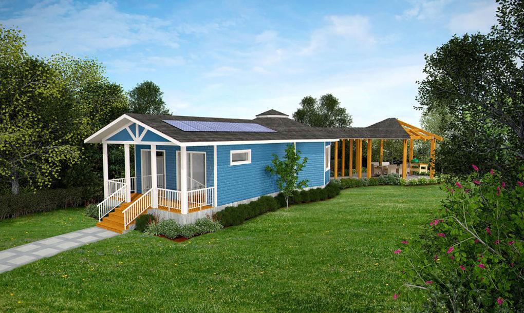 Net Zero Solar Farmhouse Unveiled By Deltec Provides All