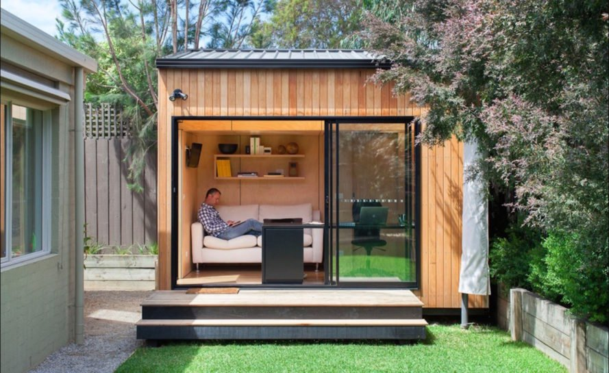 9 eco-friendly 'man caves' for dudes and dads to get away ... on Man Cave Patio Ideas  id=17330